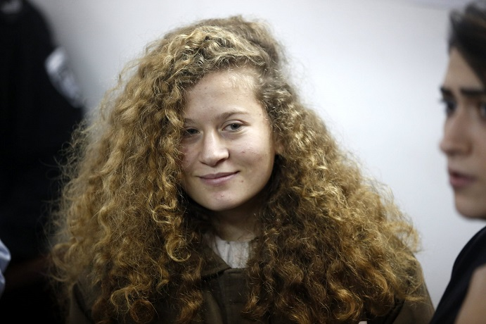 Transcript of Ahed Tamimi interrogation by Israeli military