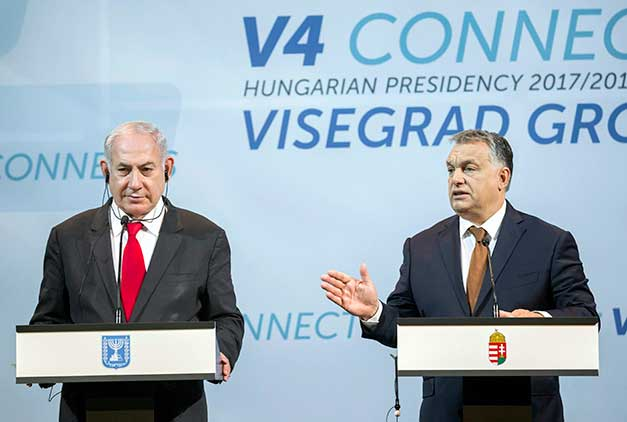 Birds Of A Feather Hongarijes Viktor Orban Op Bezoek Bij Benjamin